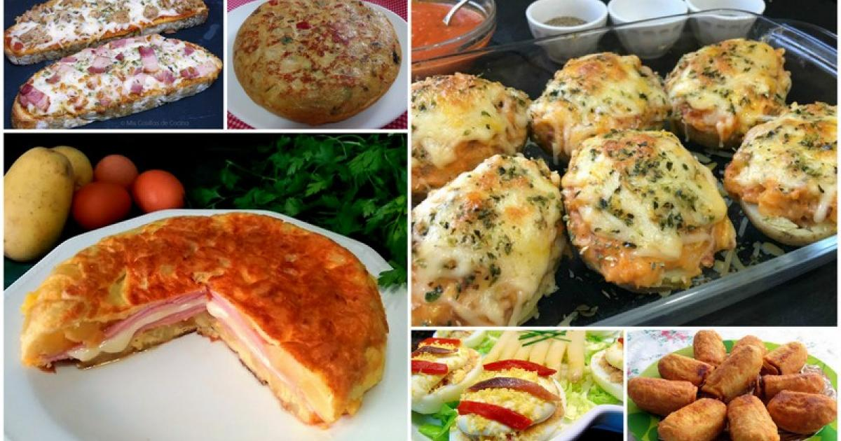 8 recetas para cenar el fin de semana recetas f ciles