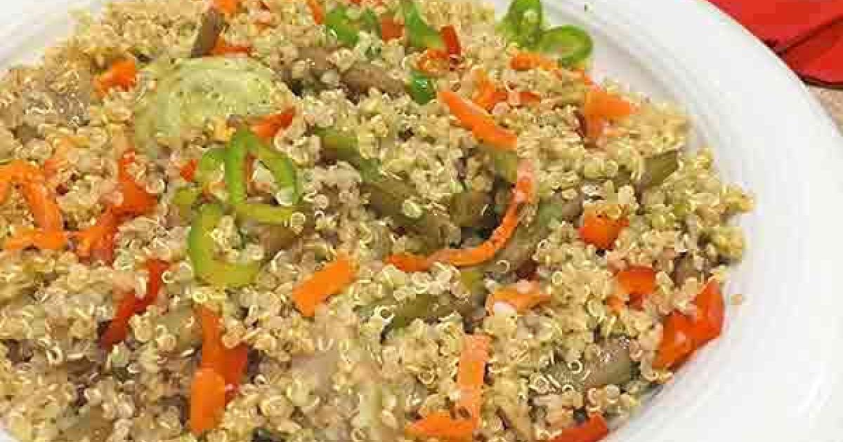 Quinoa con verduras recetas f ciles reunidas - Cocinar quinoa con verduras ...