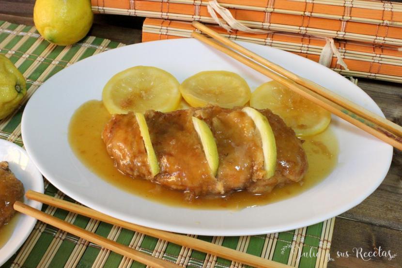 Pollo al lim n estilo chino recetas f ciles reunidas - Pollo al limon isasaweis ...